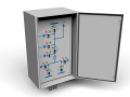 Disconnect switches remote control cabinet 3D Model