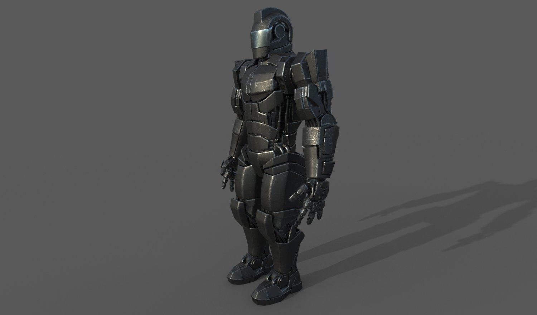 Robot Soldier 3D Model in Robot 3DExport