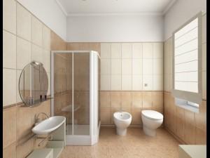 Interior bedroom 5 models set