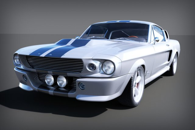 Ford Mustang Gt5001967  Eleanor 3D Model