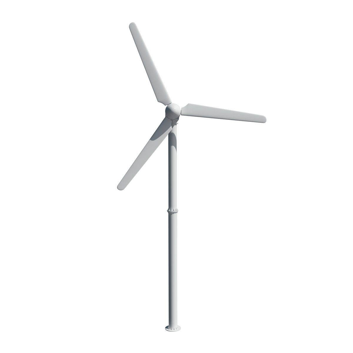 Wind turbine 3D Model in Machines 3DExport