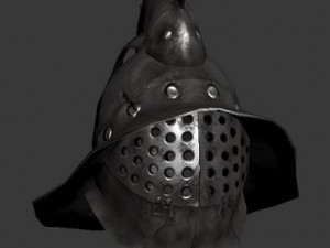 Gladiator Mirmillone Helm