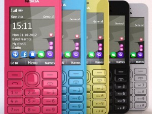 Nokia 206 Different Colors Collection