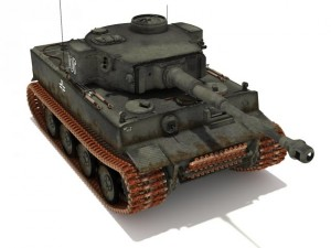 PzVI Tiger AusfH1 502 battalion