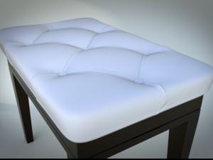 3D Models Piano Bench
