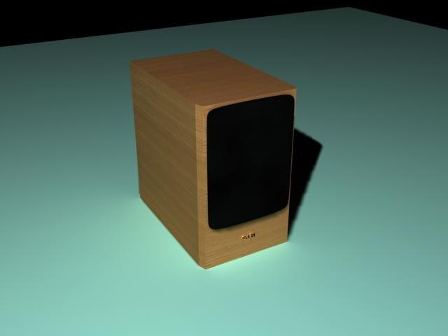 Download free Audio SVEN 3D Model