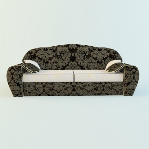 sofa classic 3d model in sofa 3dexport