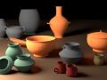 Acient pots