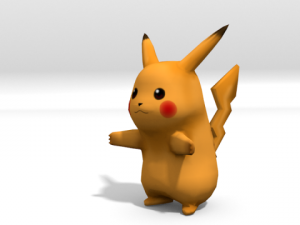 Lowpoly Pikachu