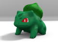 Lowpoly Bulbasaur
