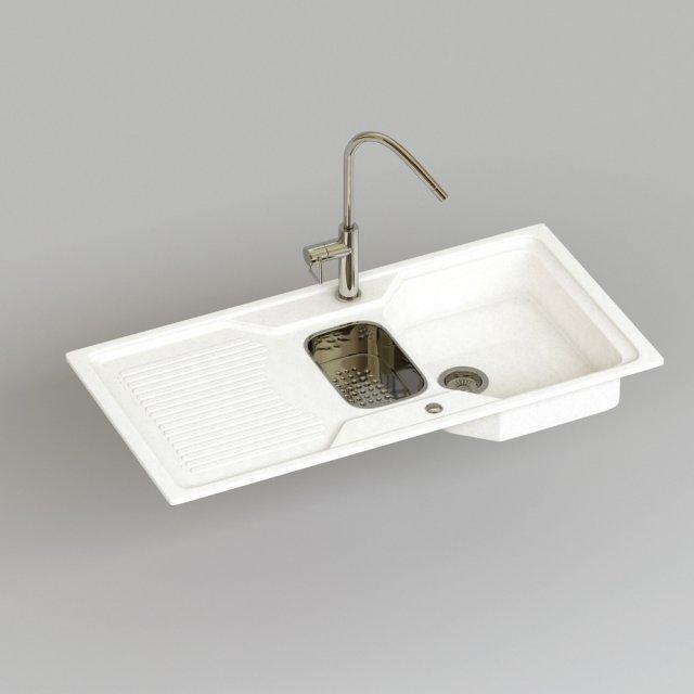 Blanco Classic 6S 3D Model