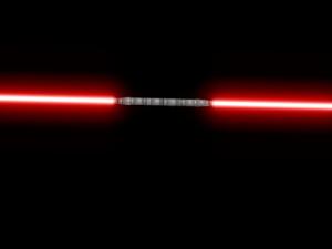Darth maul lightsaber star wars
