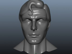 Superman face