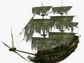 Flying dutchman sailship