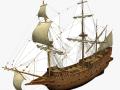 Galeon sailship