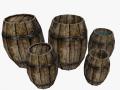 Medieval 5 barrels