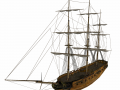 Clipper sailship