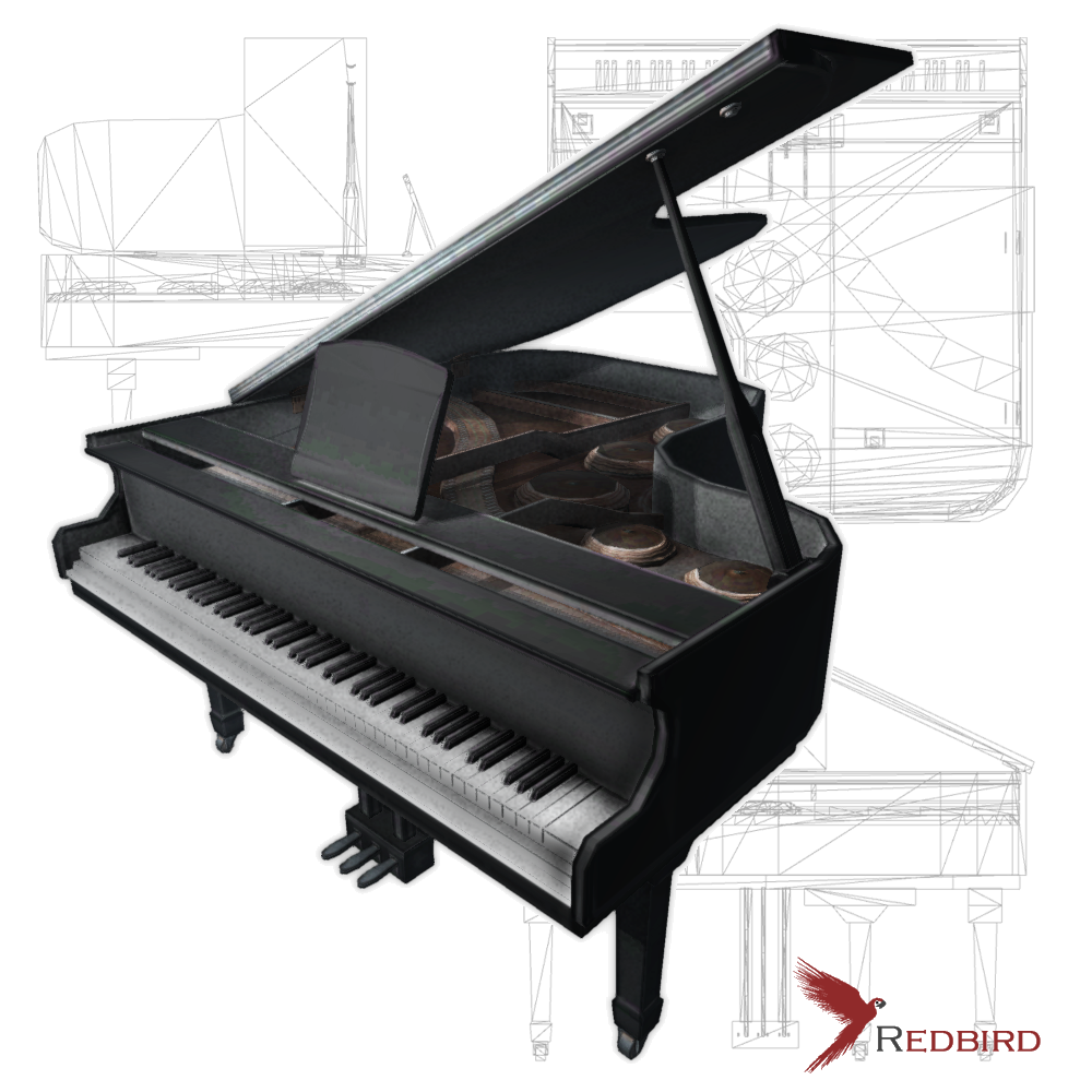 Piano 3D Models - Download Piano 3D Models 3DExport