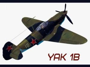 Yakovlev  or Yak1B Soviet World War II Fighter