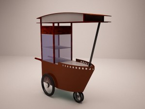 Satay Cart