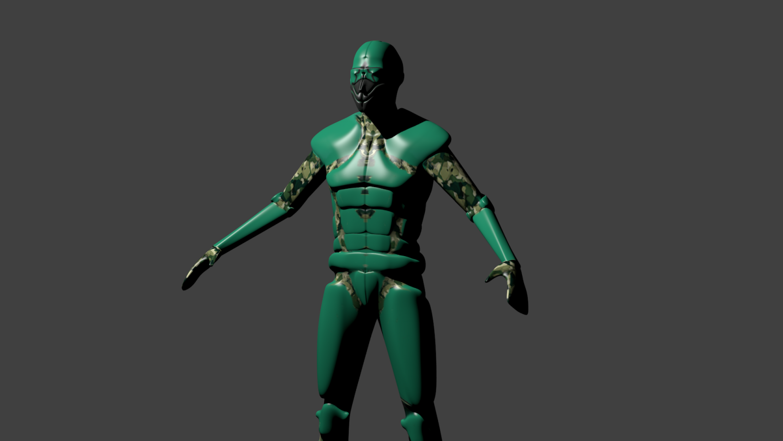 3d Figure Model Free