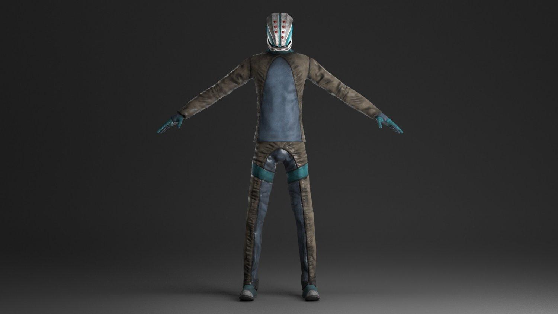 Mobile game character 3D Model in Man 3DExport