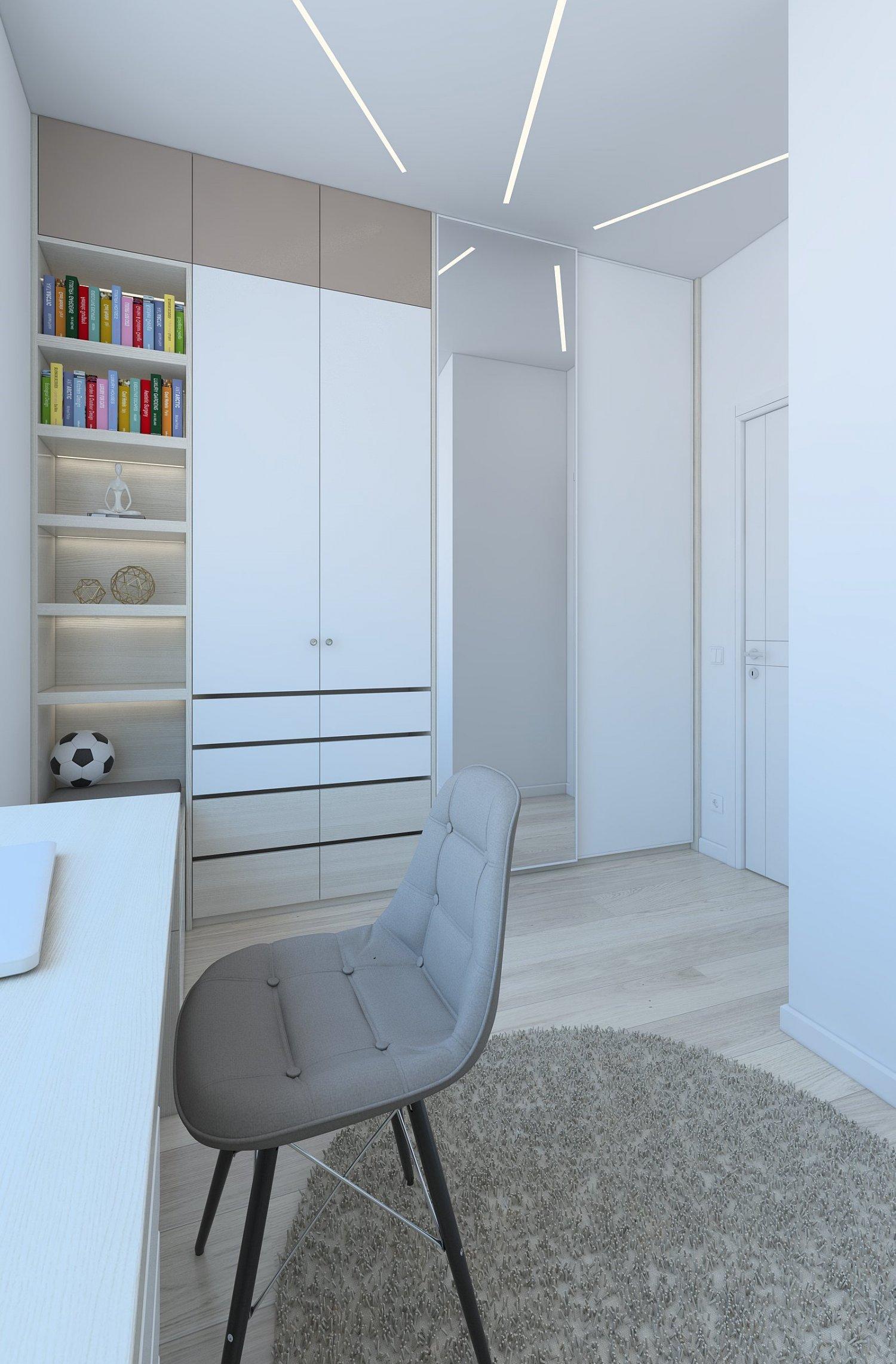 Comfortable child room with large closet 3D Model in Bedroom 3DExport