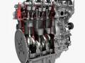 4 Cylinder Engine Block Cutaway