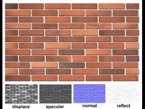 Decorative brick 03