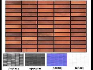 Decorative brick 01m