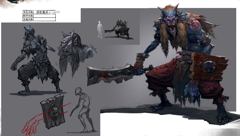 Low Poly 3d Monster Mortal Combat 3d Model In Fantasy 3dexport