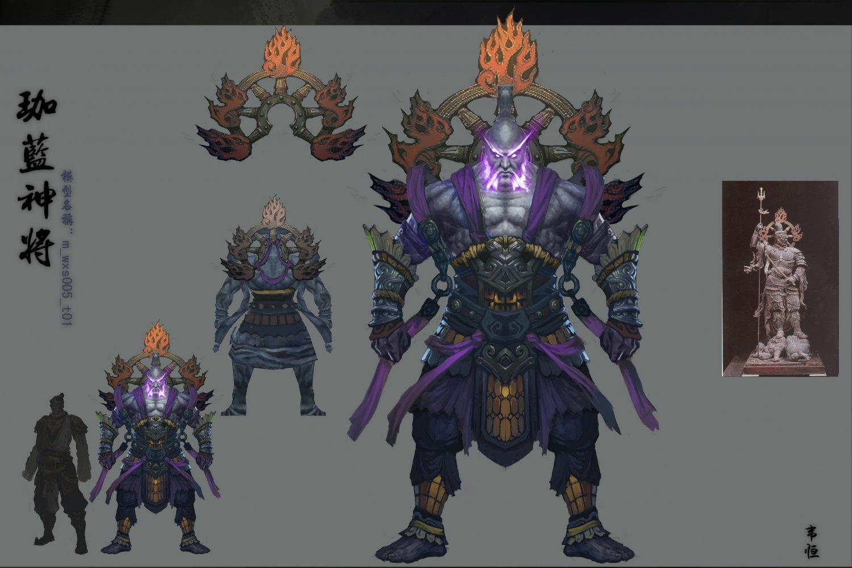 Low poly 3D characters-Indigo God 3D Model in Man 3DExport