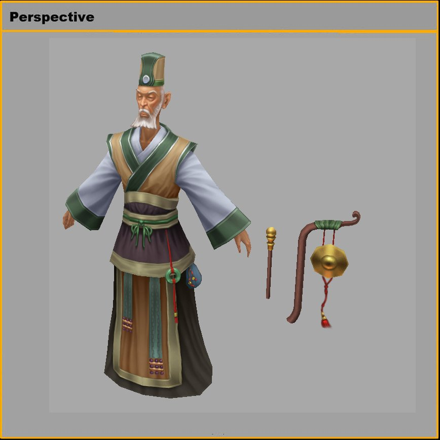 Low poly 3D characters-auctionary 3D Model in Man 3DExport