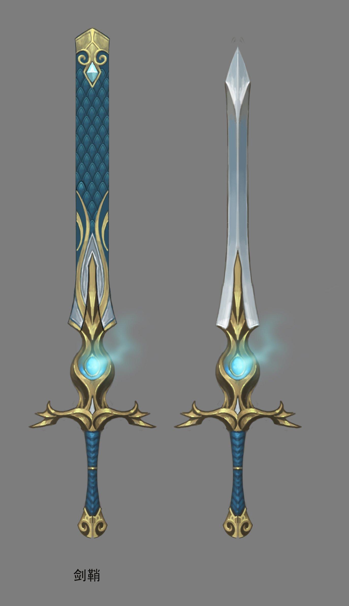 Weapon - Long Sword 01 3D Model in Other 3DExport