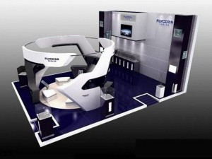 Exhibition booth area 9X6 3DMAX2009