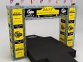 WRC motor sport podium