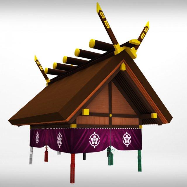 Sumo roof 3D Model