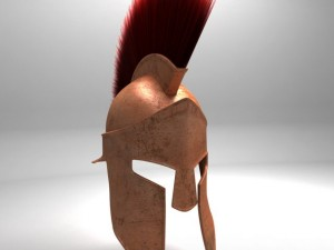 Spartan Helmet HairFur