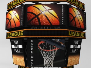 89327c6a7137 scoreboard 3D Models - Download 3D scoreboard Available formats  c4d ...