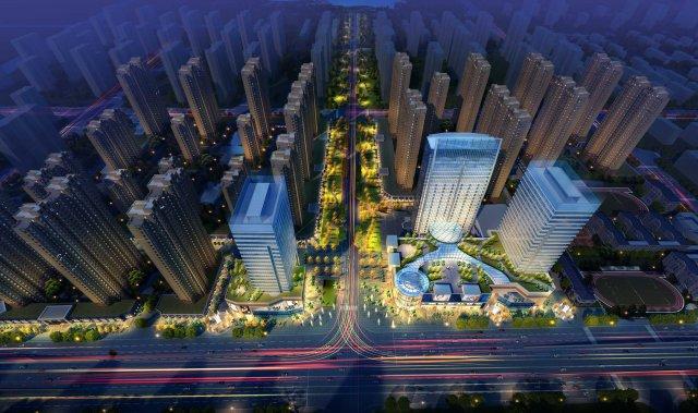 City shopping mall 061 3D Model