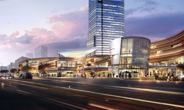 Skyscraper business center 061 3D Model