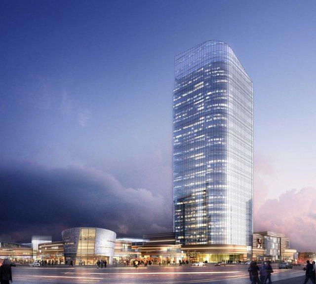 Skyscraper business center 077 3D Model
