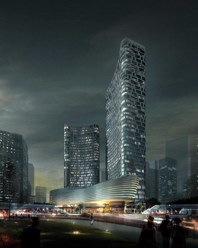 Skyscraper business center 093 3D Model