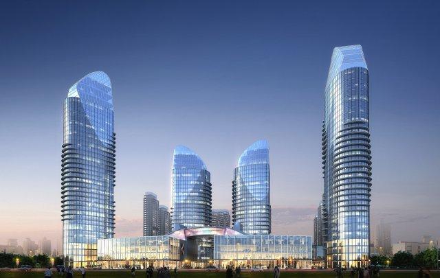 Skyscraper business center 048 3D Model