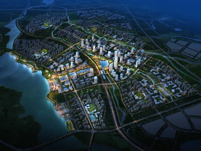 City Planning 033 3D Model