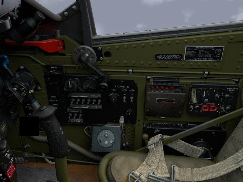Cockpit Mustang P-51D 3D Model in Parts 3DExport