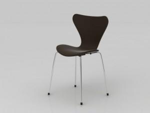 High Detail Interior Chair