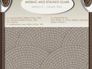 Mosaic floor  hand made