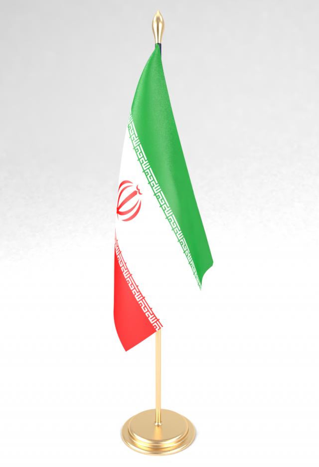 Office Flag Iran Model