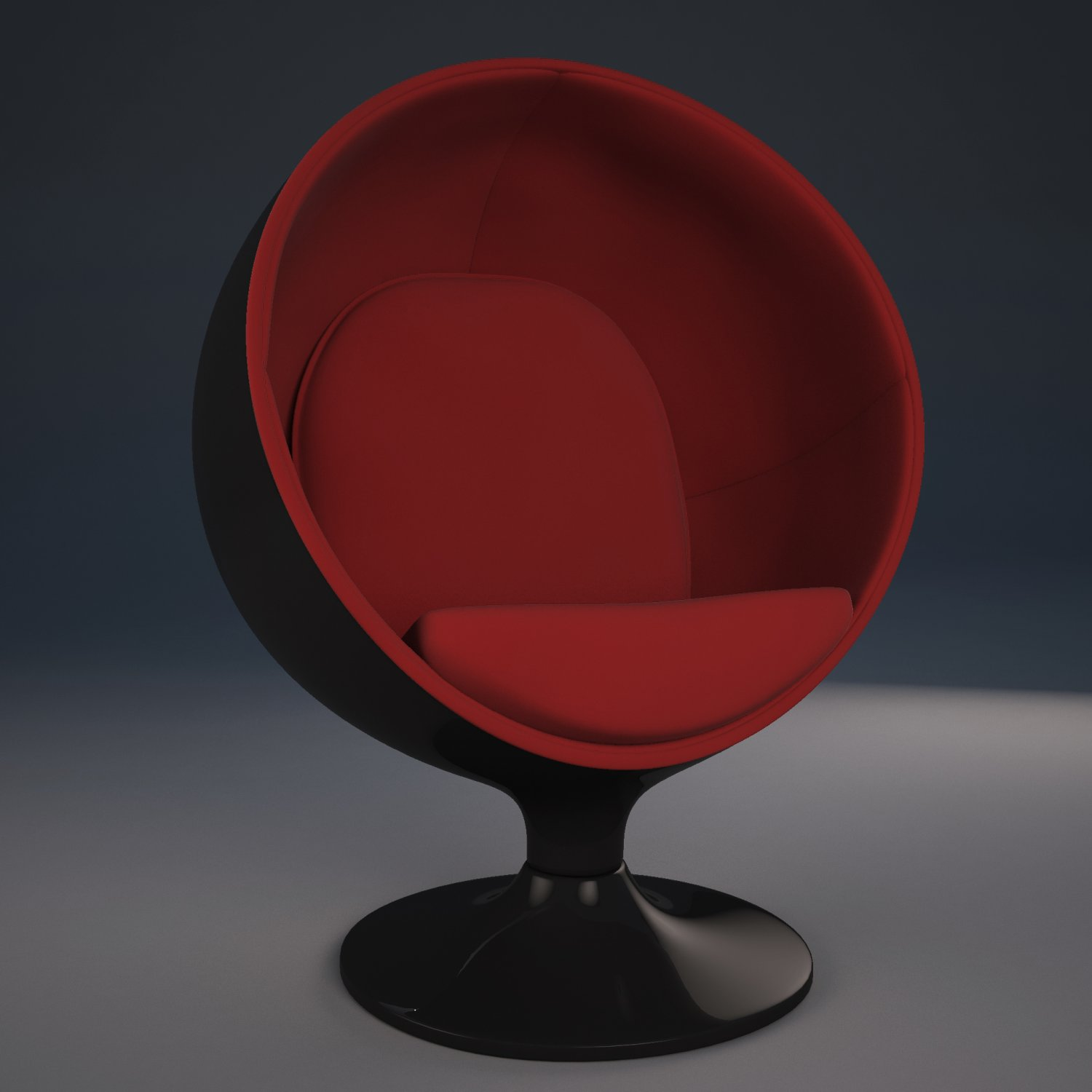 Ball chair Free 3D Model in Chair 3DExport